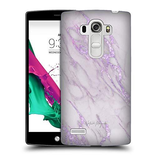 Head Case Designs Offizielle Nature Magick Purpurrot Marmor Metallisch Harte Rueckseiten Huelle kompatibel mit LG G4 Beat / G4s / G4 s / H735