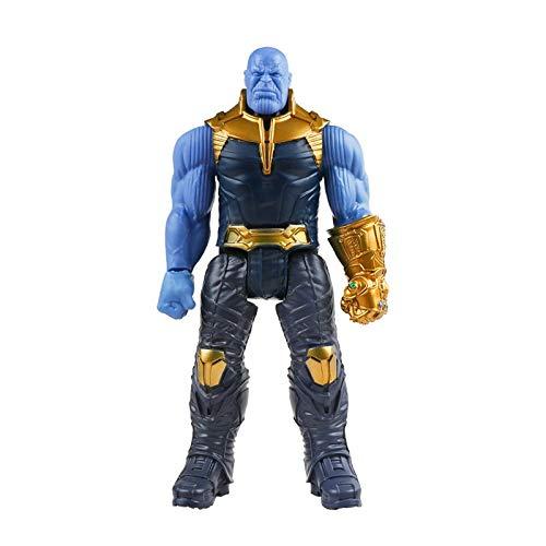 DEERO 30 Centimetri Marvel Super Heroes Avengers Endgame Thanos Hulk Capitan America Thor Wolverine Venom Action Figure Giocattoli Bambola per Il Capretto Ragazzo (M No Box)