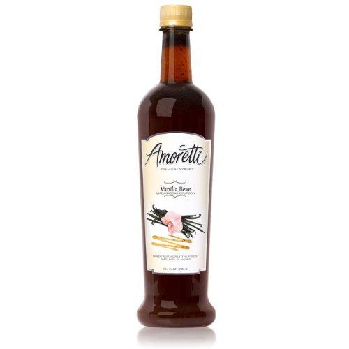 Amoretti Premium Syrup, Madagascar Bourbon Vanilla Bean, 25.4 Ounce