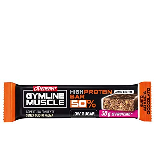 Enervit 5316 Gymline Barr 50 %, Gusto Arancia e Cioccolato 50%, 1 pezzo