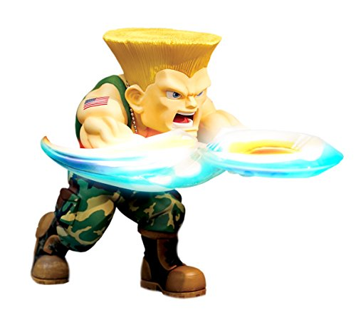Big Boy Toys Figura Street Fighter LED & Son - The New Challenger - Guile - 17 cm