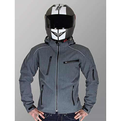 Rider-Tec cazadora Softshell de Moto, con protectwearions CE