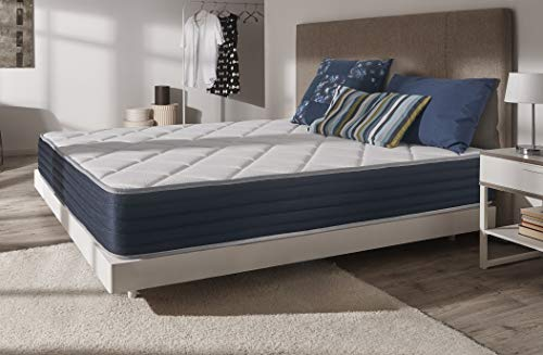 NATURALEX | Ideal Visco | Matelas 140x190 Cm | Ergonomique 7 Zones | Mousse Mémoire de Forme Adaptative | Structure Multicouches | Technologie Blue Latex | Respirant | Réversible Été/Hiver