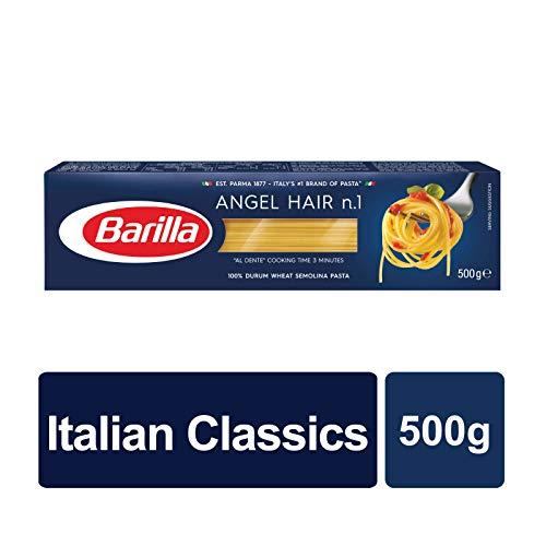 10x Pasta Barilla Capellini Nr. 1 italienisch Nudeln 500 g pack spaghetti