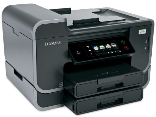 Lexmark Pro905 Platinum Professional Multifunktionsgerät (Tintenstrahldrucker, Scanner, Kopierer, Fax)