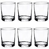 Argon Tableware Tumbler Water/Whisky Glasses - Gift Box of 6-280ml - 10oz