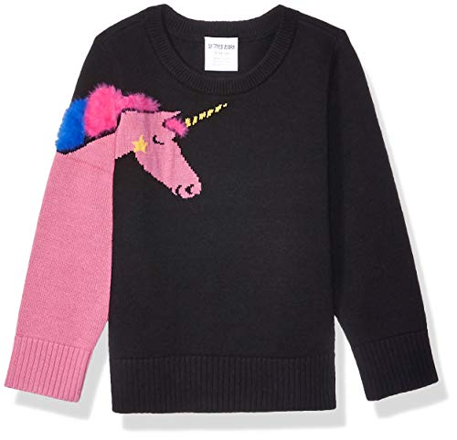 Spotted Zebra Crew pullover-sweaters, Einhorn, X-Small (4-5)
