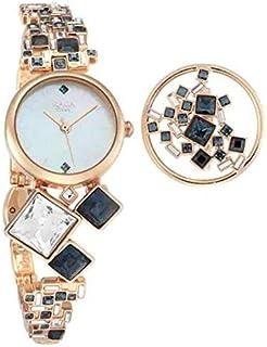 ساعة تايتن راغا للنساء مع خاتم 95106wm02