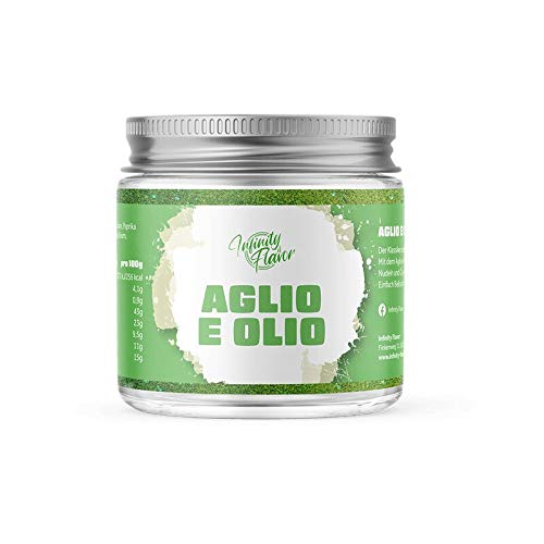 Infinity Flavor - Aglio e Olio 60g | Perfekt geeignet zum Würzen von Nudeln
