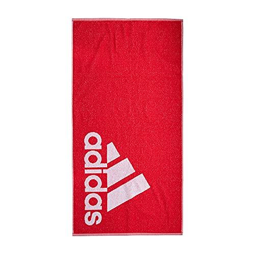 adidas GM5822 TOWEL S Telo mare Unisex - Adulto team colleg red/white NS