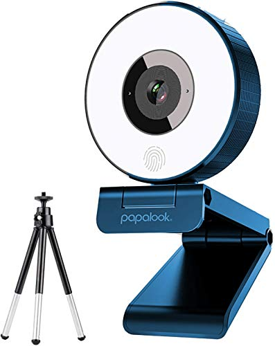 Stream Webcam Full 1080p HD Camera for Computer Web Camera with Built-in Noise...