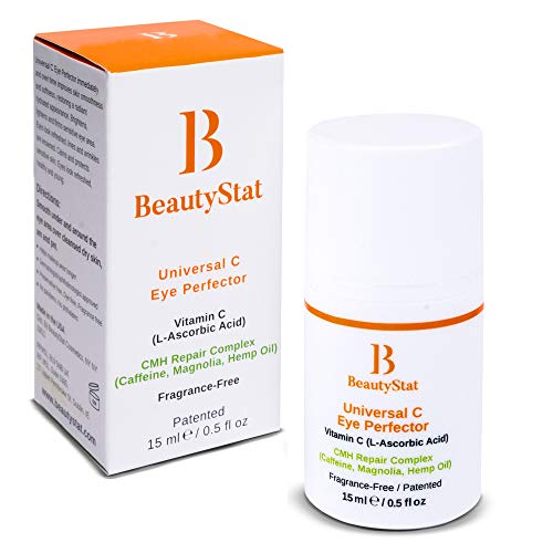 BeautyStat Universal Universal C Eye Perfector | Vitamin C Cream for Refreshing Relief of Puffiness Around Eyes - Created by a 20+ Year Skincare Veteran