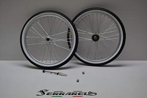Cicli Ferrareis Cerchio O Ruote 20 GRAZIELLA BMX MTB in Alluminio 1V Complete