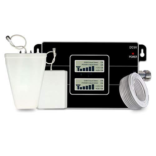 Liberación Pantalla LCD Amplificador De Señal 4G LTE 1800MHz gsm 900MHz Repetidor De Señal 2G 4G 1800MHz Amplificador De Señal De Teléfono Móvil.