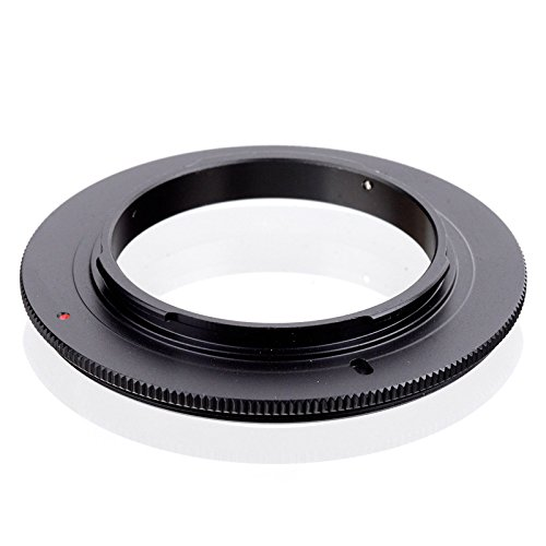Quietgreen - 52mm Anillo de Adaptación inversión macro,Adaptador para Macro fotografia para Camara Nikon(bayoneta Nikon F)