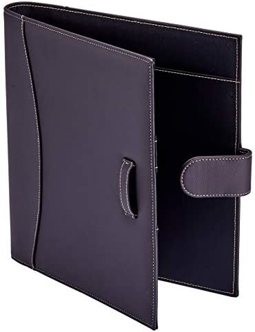 It s Academic Executive Leather Portfolio Folder 1 Ring Binder and 250 Sheet Capacity to Organize product image