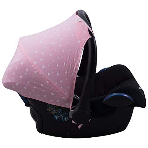 JANABEBE Capota compatible con Maxi Cosi Cabriofix (Pink Sparkles)