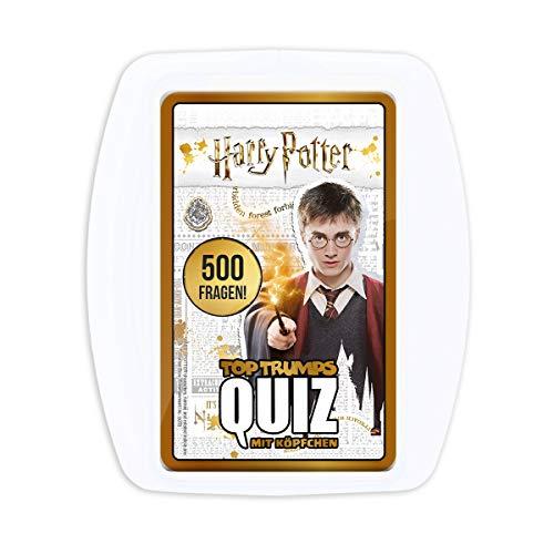 Winning Moves WIN63759 Top Trumps Quiz Harry Potter Zubehör