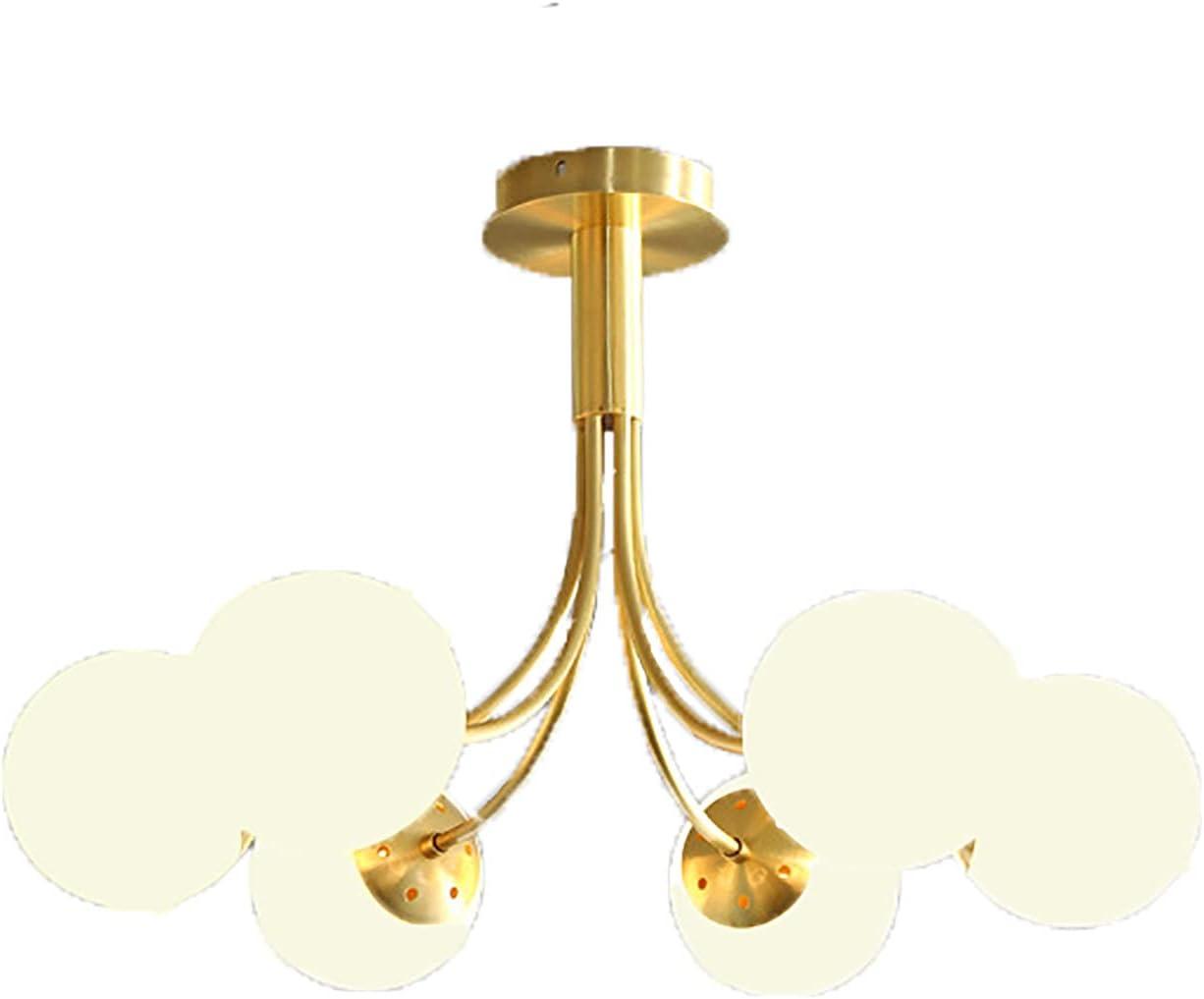 BSEA free 6 Lights Flush Ranking TOP13 Mount Chandelier Gold Ceiling Sputnik Light