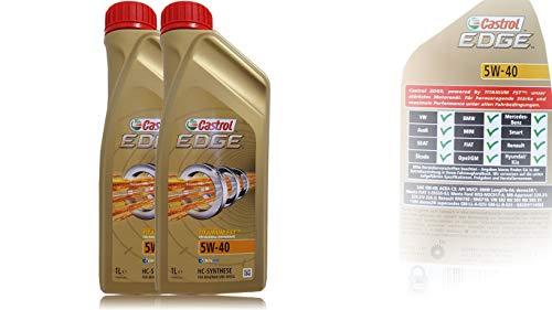 Castrol EDGE FST 5W-40 Motor-Öl Motoren-Öl 2L