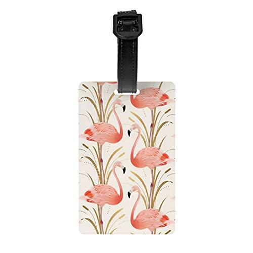Pinker Flamingo Clipart Stil bedruckte...