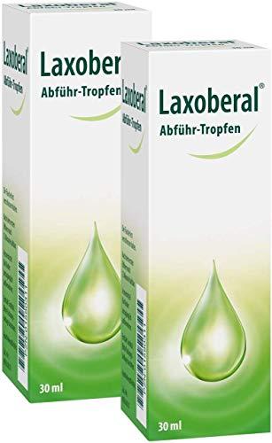 Juego de ahorro Laxoberal para gotas de drenaje (2 x 30 ml)
