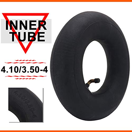 Best Bargain 4.10/3.50-4 Inner Tube For Hand Truck, Dolly, Hand Cart, Utility Wagon, Utility Carts,...