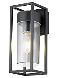 The ZLC079K Outdoor Modern Wall Lantern - Particular design spans the gap between past and present with unique combination of classic and contemporary elements. The attractive wall lantern fitting makes a good addition to the exteriors of both commer...