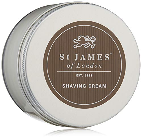 St James of London Cedarwood & Clarysage Shave Cream Jar, 5.07oz