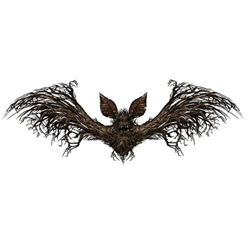Zonfer Halloween Fai da Te Pipistrelli Spaventoso Decalcomania della Parete del PVC Wall Stickers 3D Halloween Eve Decorazione per Living Room