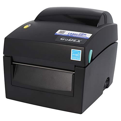 Godex DT4X Drucker mit Abreißkante - 203 dpi - Thermodirekt - 108 mm max. Druckbreite, LAN, seriell, USB Schnittstellen