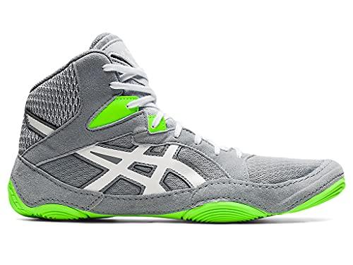 ASICS Men's Snapdown 3 Wrestling Shoes, 8.5, Sheet Rock/White