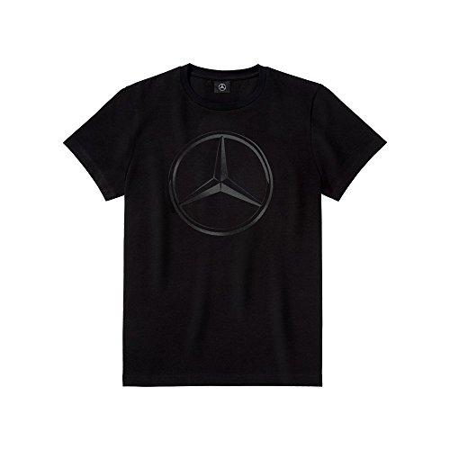 Mercedes-Benz T-Shirt Herren schwarz 3d-Sterndruck Gr. XL