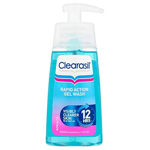 Clearasil Ultra Rapid Action Gel Wash 12 hours
