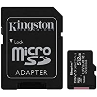 Kingston Canvas Select Plus 512GB MicroSDHC Card + Adapter