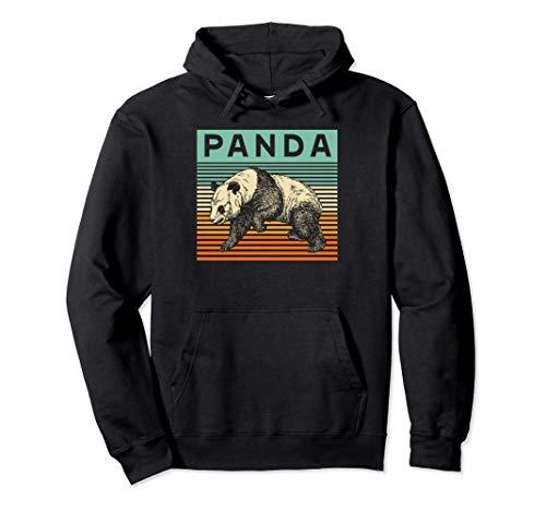 Retro Panda Vintage Panda Pullover Hoodie