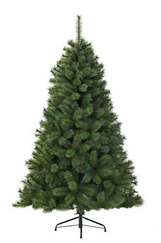 Kaemingk 683841 - Árbol de Navidad Artificial, PVC, 180cm, Color Verde