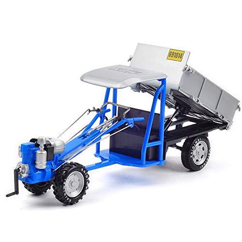 Xolye Aleación del metal del modelo motocultor la anti-gota Tire Ingeniería de coches de juguete Volver Tractor agrícola de coches de juguete de inercia hacia adelante Boy Car Collection juguete de la