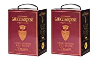 vino rosso toscano bag in box conte ferdinando guicciardini (2 bag in box 5 litri)