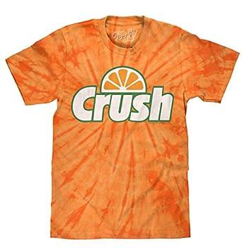 Tee Luv Orange Crush Tie Dye T-Shirt  M