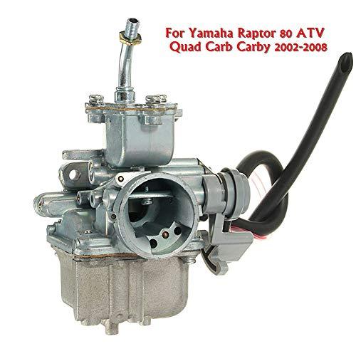 YSHtanj Carburateur motoren & componenten Carburateur Carburateur ZZP-FJIJF34 ATV Quad Carb Carby voor Yamaha Raptor 80 2002-2008