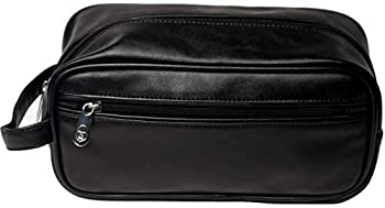 baKblade Leather Travel Bag - Compatible with baKblade 2.0 or Elite Back Shaver as well as Bodblade Shaver  Shavers Sold Separately
