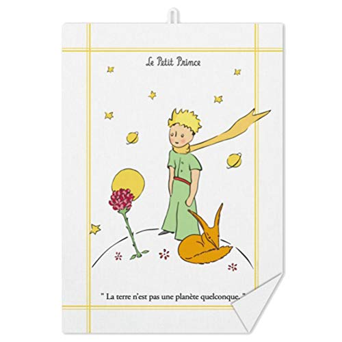Torchon Le Petit Prince et le Renard