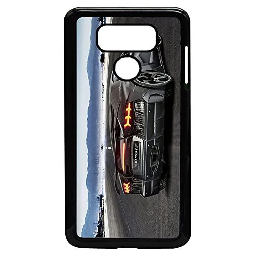 Compatible para LG G6 Calidad Diseño Aventador Caja del Teléfono Plástico Rígido Hombre