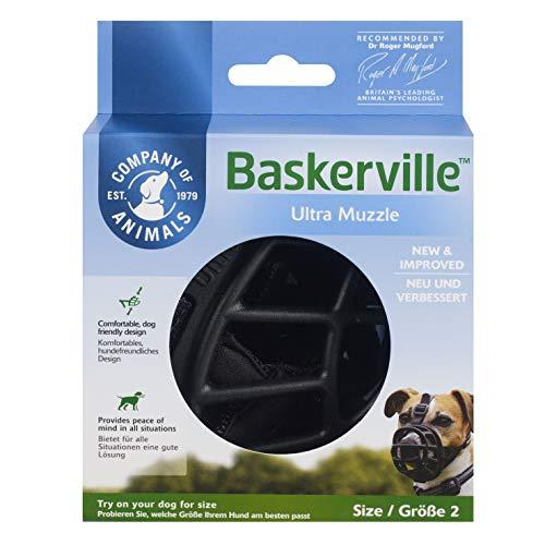 Baskerville Ultra Muzzle,Schwarz,Größe2