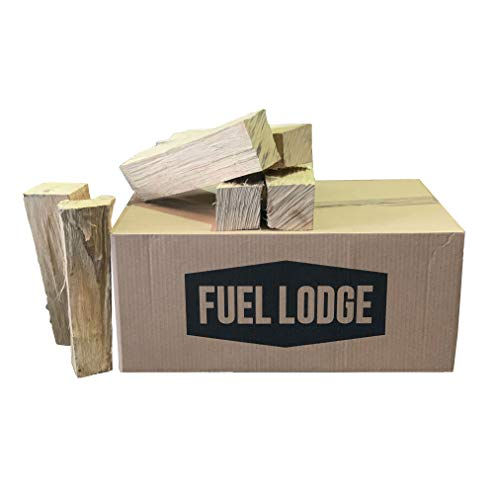 Fuel Lodge 800kg Kiln Dried Hardwood Logs - Low Moisture Under 15% - Low Bark - Perfect for Log Burners - Pizza Ovens - Ash Oak Beech Birch