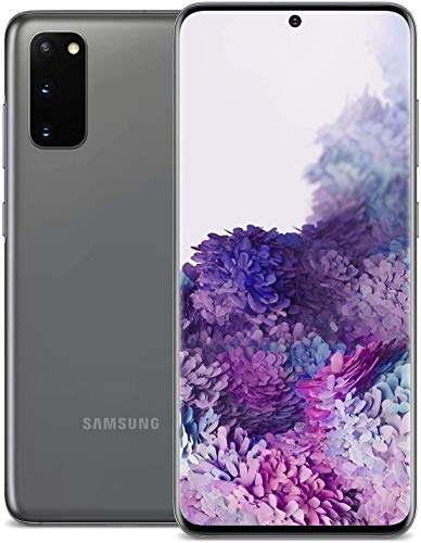 Samsung Galaxy S20 5G Verizon + GSM Unlocked 128GB Cosmic Gray (Renewed)