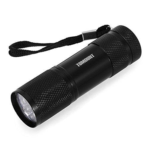 Ecloud Shop® 3 Pieces 9 LED UV Lampe Torch Taschenlampe Leuchte für Outdoor