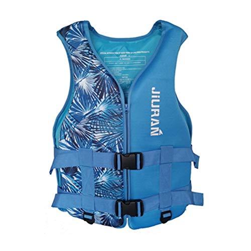 Terzsl Chaleco salvavidas ajustable de seguridad para natación, flotación, chaleco para kayaking Boarding Pesca.
