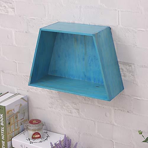 Wall Shelf Floating Shelf Wandplank, rustiek, drijvende planken voor wandmontage, decoratief wandplank, boekenplank, fotoplank, afbeelding, Shelf – opslag van home organizer C